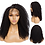Thumbnail: Lace Front Human Hair Wigs For Women Mongolian Kinky Curly Wig Remy Human Hair
