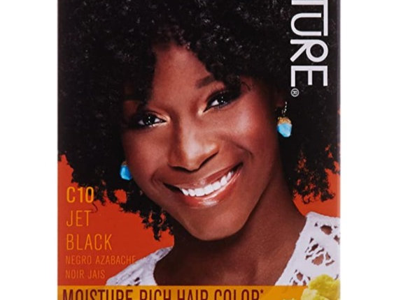 Creme of Nature Liquid Hair Color - #10 Jet Black by Creme of Nature