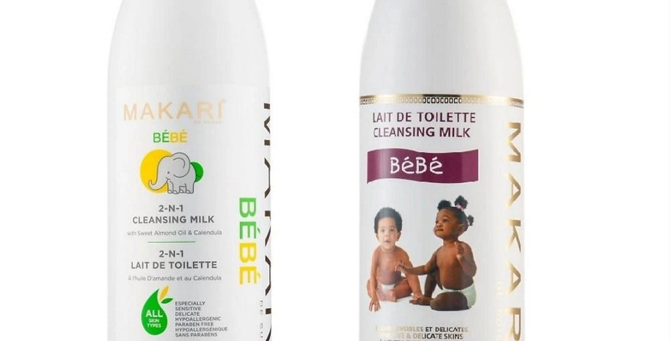 MAKARI WHITE Baby Cleansing (Milk) Lotion 1000ml
