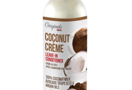 Originals by Africa's Best Coconut Crème Leave-In Hair Conditioner,