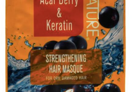 Acai Berry & Keratin Masque12oz