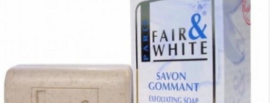 White Exfloliating Soap 200g