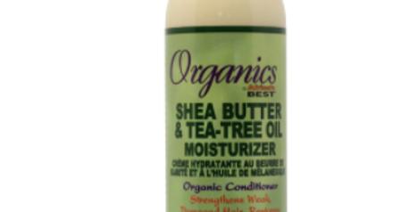 Africa's Best   Shea Butter & Tea Tree Oil Moisturiser (6oz)