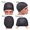Thumbnail: Plussign 6 Pcs/Lot Breathable Mesh Dome Caps For Wigs Making Glueless Spandex Wi