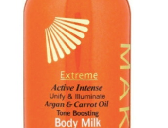 MAKARI EXTREME CARROT & ARGAN Extreme Toning Milk 500ml