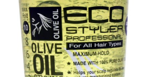 Eco Style Olive Oil Styling Gel, Green, 100% Pure Olive Oil, 946 ml