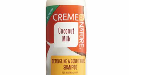 Coconut Detang Cond Shampoo 12oz