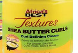 AFRICA'S BEST TEXTURES SHEA BUTTER CURLS DEFINING CREAM