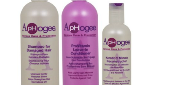 ApHogee Shampoo for Damaged Hair + ProVitamin Leave-In Conditioner 16oz + Kerati