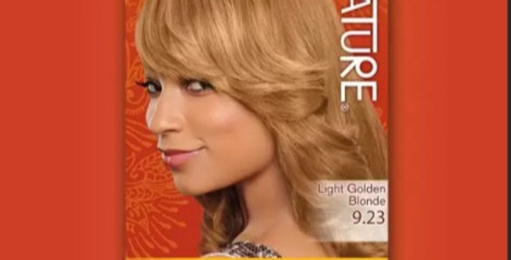 CREME OF NATURE ARGAN COLOR Argan Oil 9.23 Light Golden Blonde