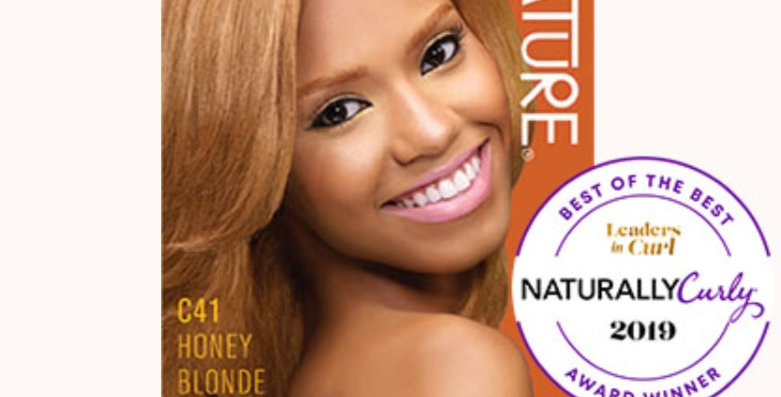 CREME OF NATURE ARGAN COLOR Shea Butter C41 Honey Blonde
