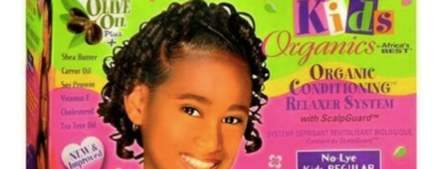 Org Kids Relaxer Kit Regular