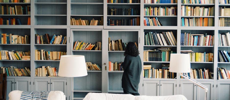 Dicas para montar sua biblioteca em casa!