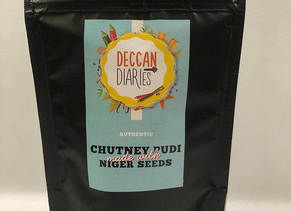 Chutney Pudi made with Niger seeds