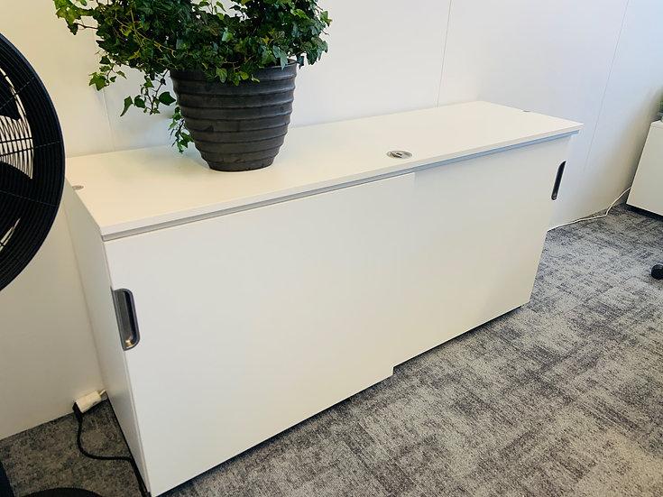 Selt/endurnýtt-IKEA skápur 160 sm m.læsingu