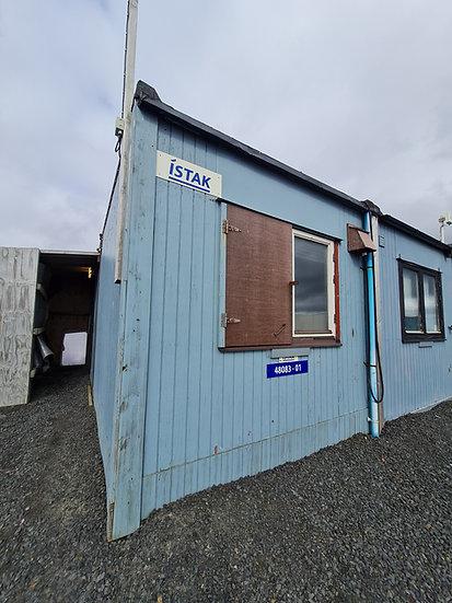 Smáhýsi Airport Nr. 01 -   29 fm. Útihurð og tvö herbergi