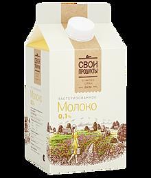 Молоко свои продукты