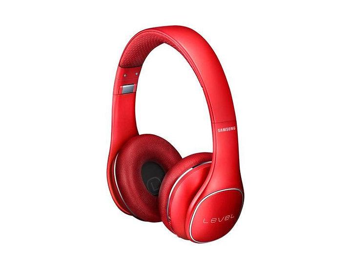 Samsung Level On Bluetooth Wireless On-Ear Headphone (Red)