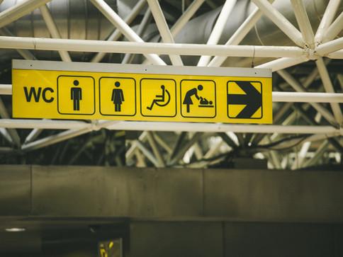 トイレでの感染リスク