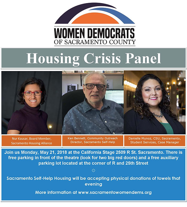 Housing Crisis Panel, hear their voices and let us hear from you. What are your major concerns right now with regards to housing?