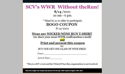 SCV's WWR:     WITHOUT THE RUN!