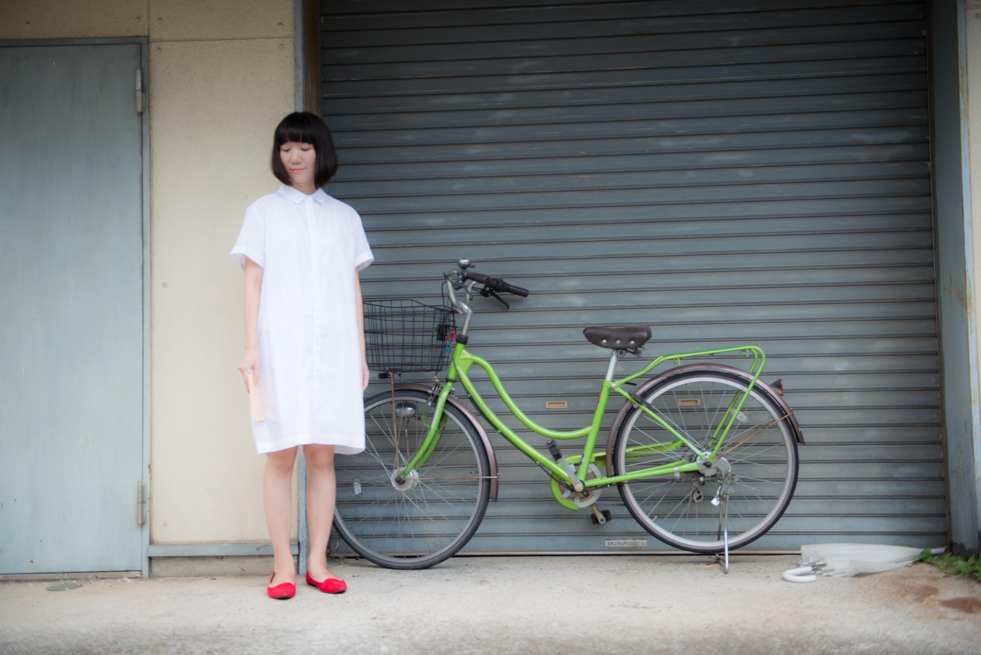 あわゆいかなこと自転車
