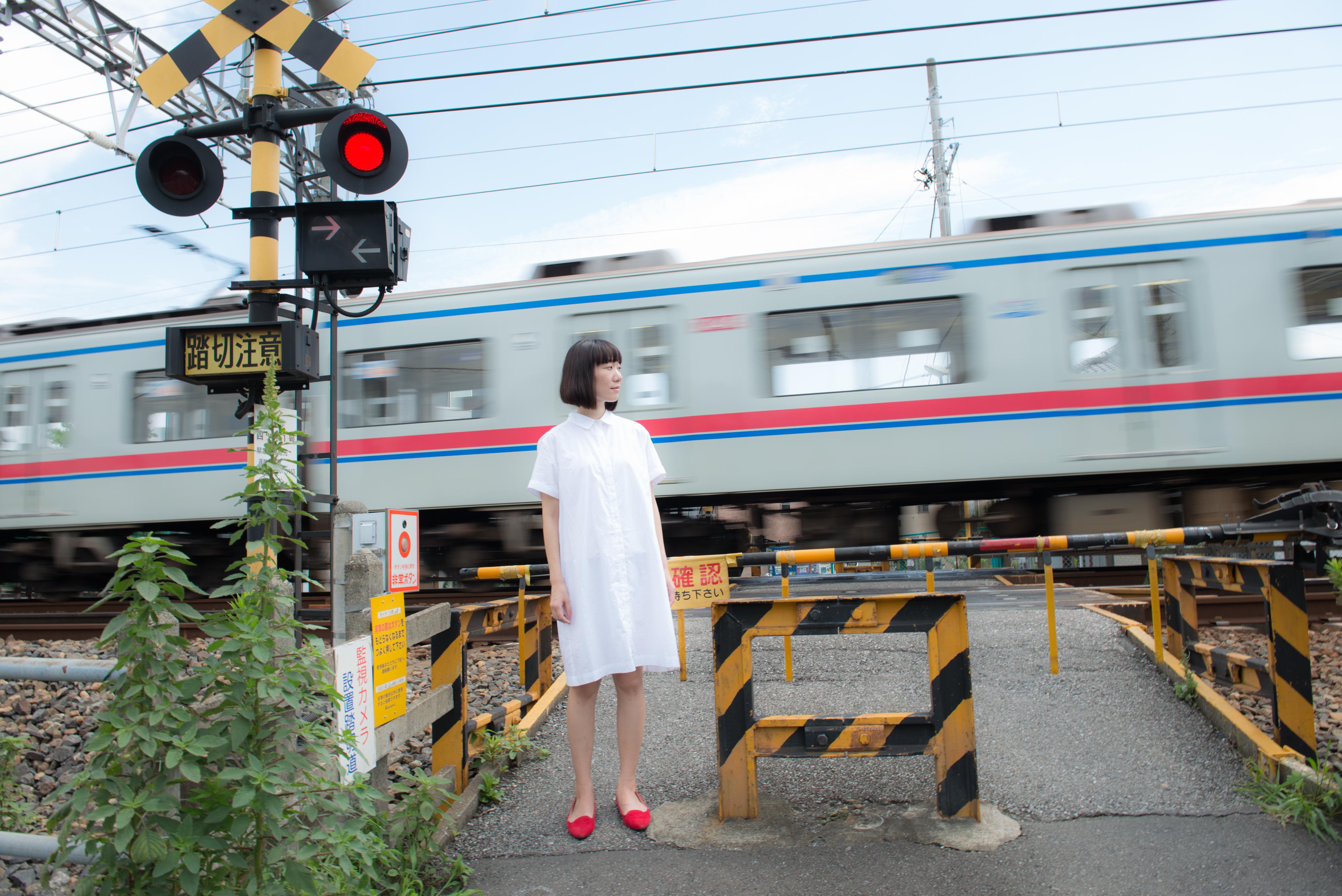 あわゆいかなこ、電車