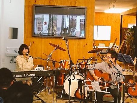 石巻iroriでライブ