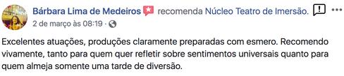 Comentario de Barbara Lima de Medeiros.p