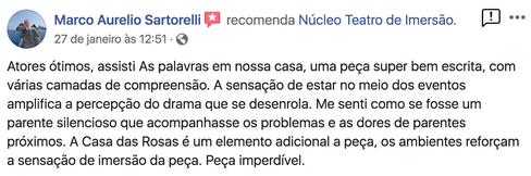 Comentario de Marco Aurelio Sartorelli.p