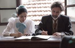 Atores Nelson Borchard e Adriana Camara