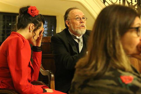 Atores Ariana Slivah e Samuel Luz - Foto