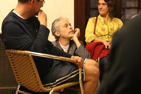 Ator Marcio Carneiro - Foto Hernani Roch