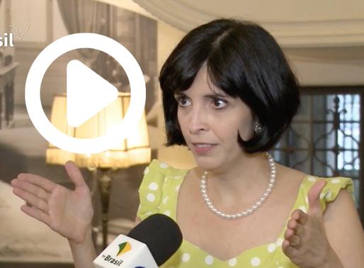 Estamos na TV Brasil - Programa Fique Ligado
