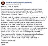 Comentario de Carlos Barroso 15 nov 2018