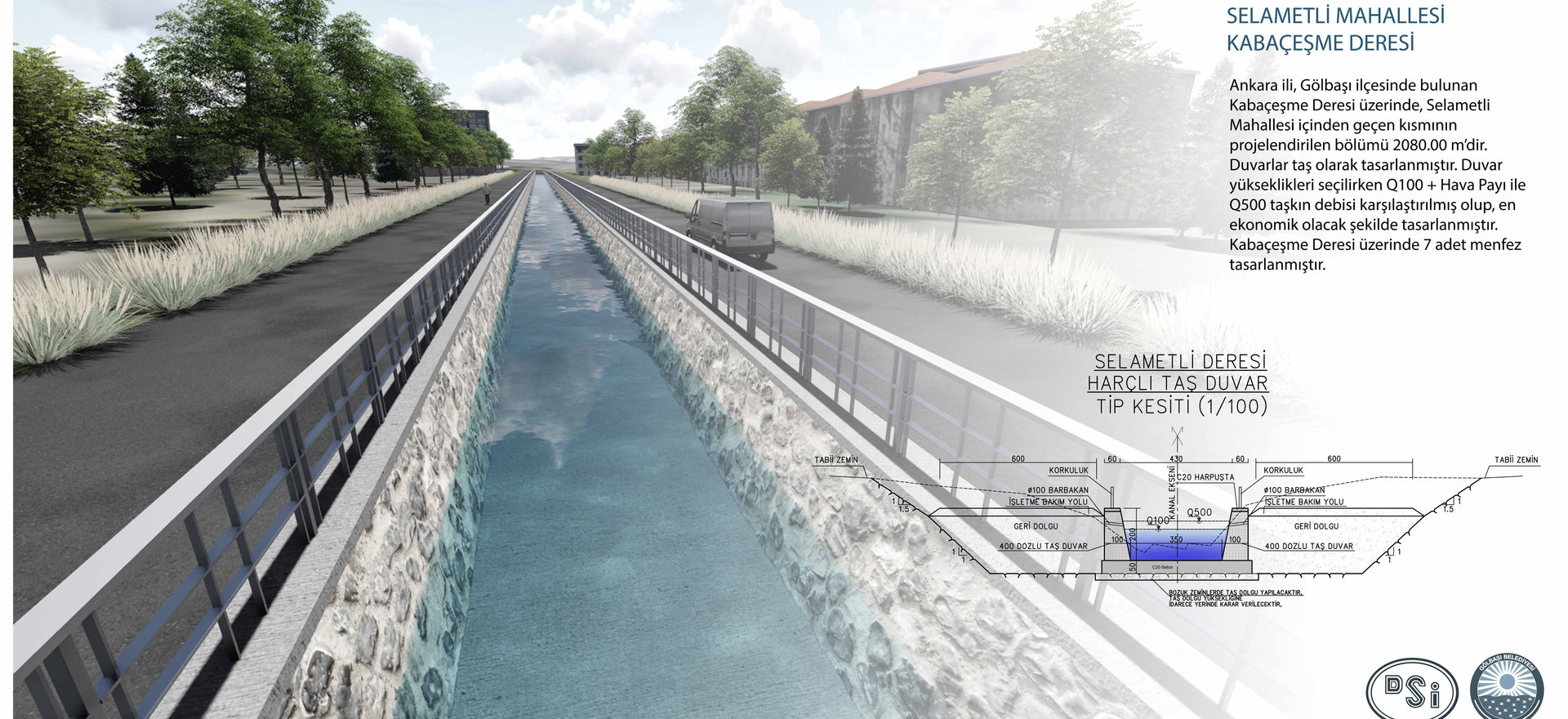 Ankara stream reclamation projects