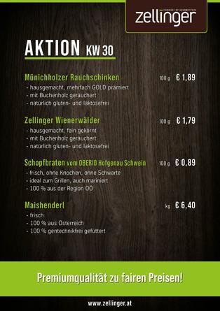 Der wöchentliche AKTIONSPLAN KW30