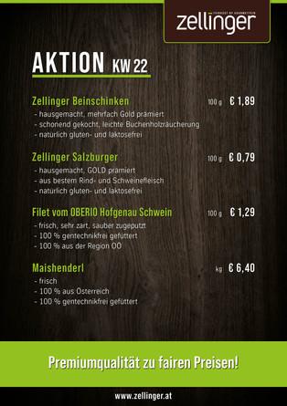 Der wöchentliche AKTIONSPLAN KW22