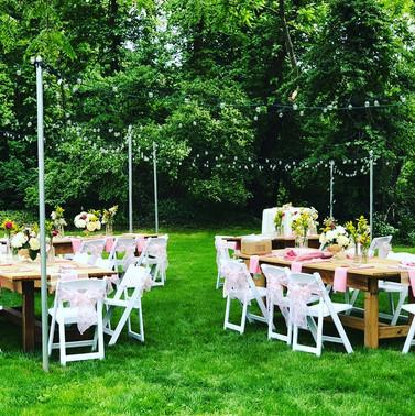 Back Yard Weddings
