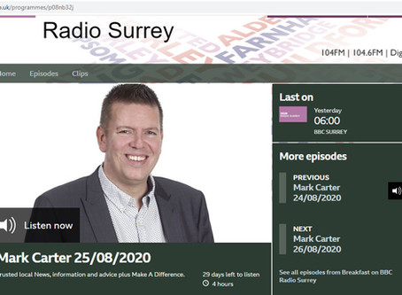 Walkfest on BBC Surrey