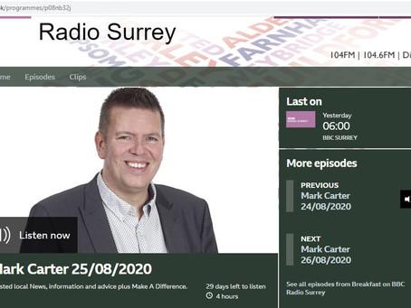 Walkfest on BBC Surrey
