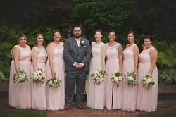 What a lucky Groom! Look at all these be