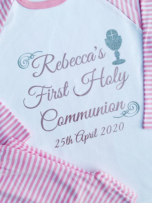 Personalised Communion Pyjamas