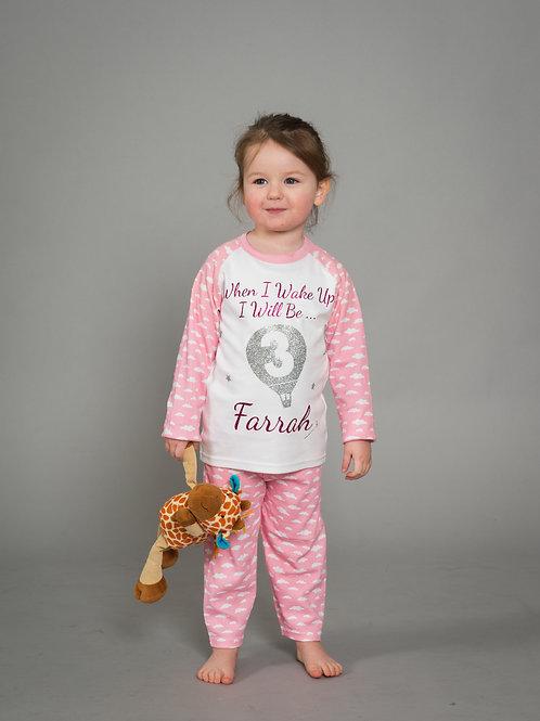 Personalised Kids Pyjamas