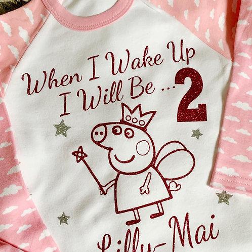 Peppa Pig Birthday Pyjamas