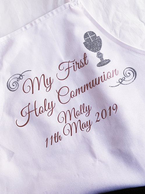 Personalised Communion Apron