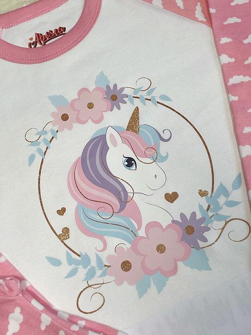Personalised Unicorn Kids Pyjamas