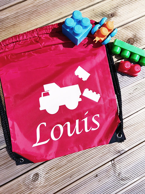 Personalised Drawstring Backpack