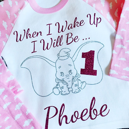 Personalised Birthday Pyjamas