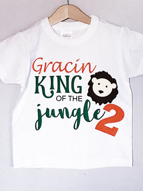 Personalised Birthday T-Shirt